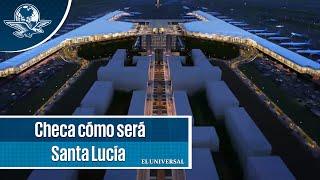 Así será el aeropuerto de Santa Lucía