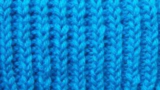 Декоративная резинка Бриошь Вязание спицами Видеоурок 25