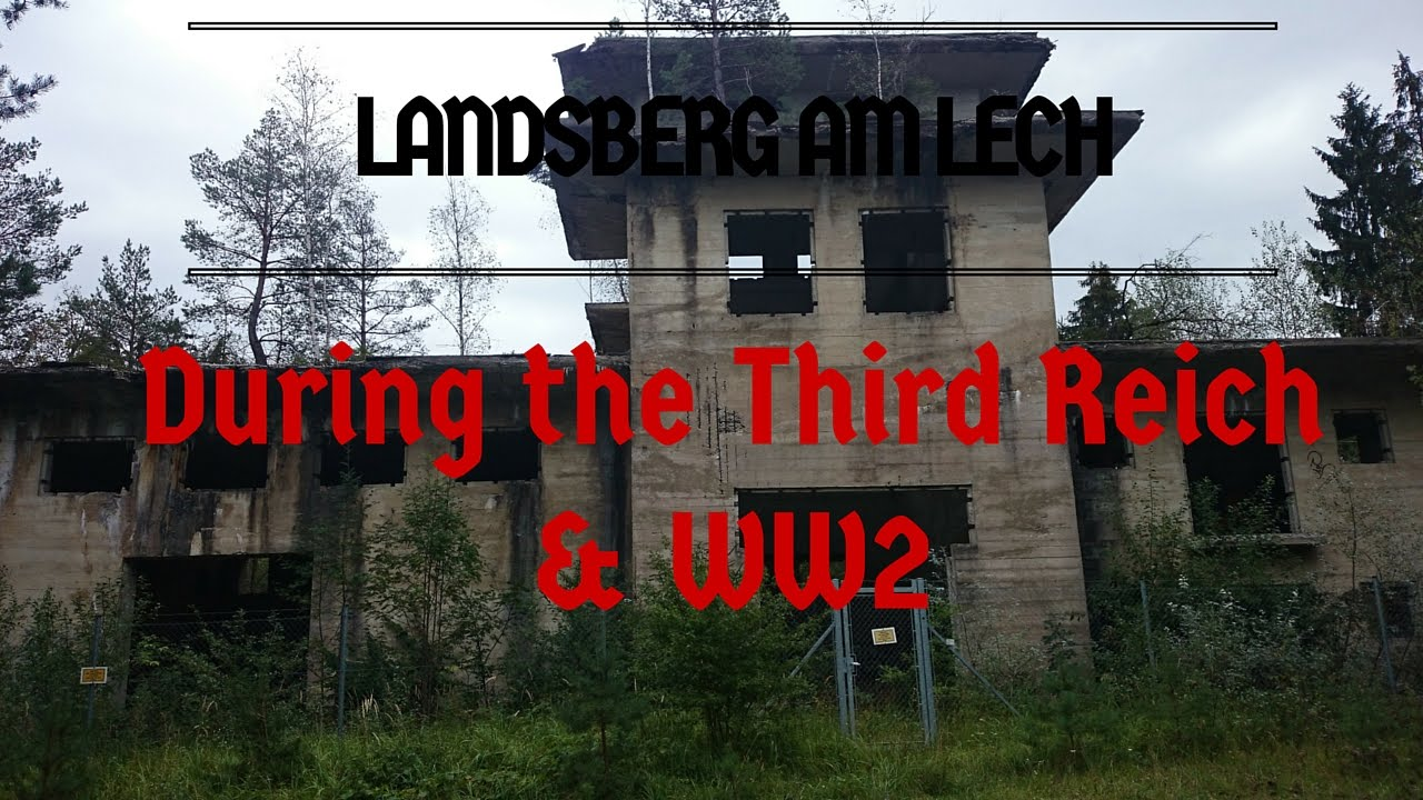 landsberg am lech during the third reich and ww2 youtube. Black Bedroom Furniture Sets. Home Design Ideas