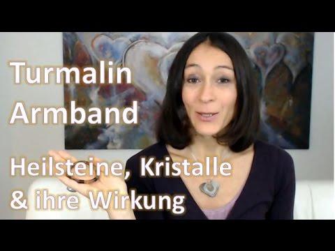 Heilsteine, Kristalle & ihre Wirkung - Turmalin Armband