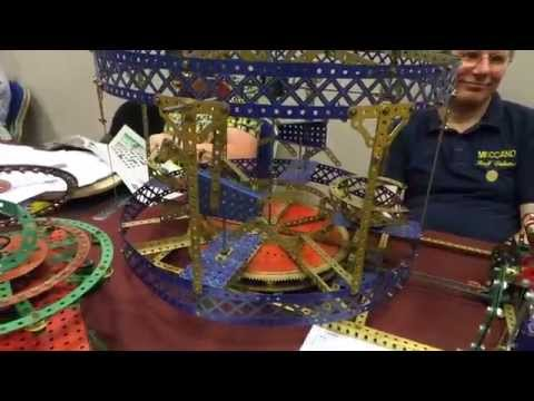 Meccano Exhibition Skegness 2014 video 1