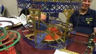 Meccano Exhibition Skegness 2014 video 1