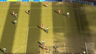 FIFA 07:-Gameplay- Arsenal vs. Manchester City