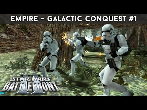 REBEL SCUM! | Star Wars Battlefront II - Galactic Conquest - Empire #1