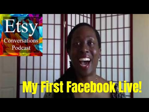 Etsy Success Tips ~ Etsy Conversations Facebook Live March 1, 2018