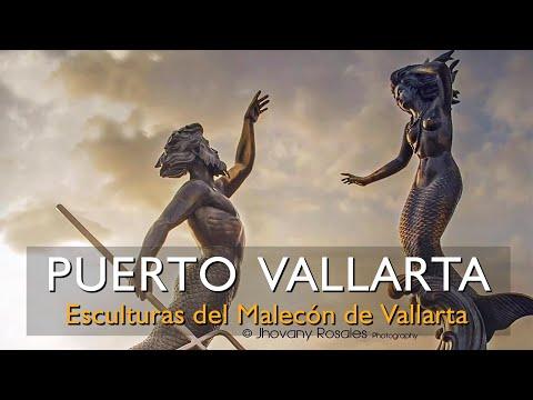 Conoce las Esculturas del Malecón Puerto Vallarta y en la ciudad