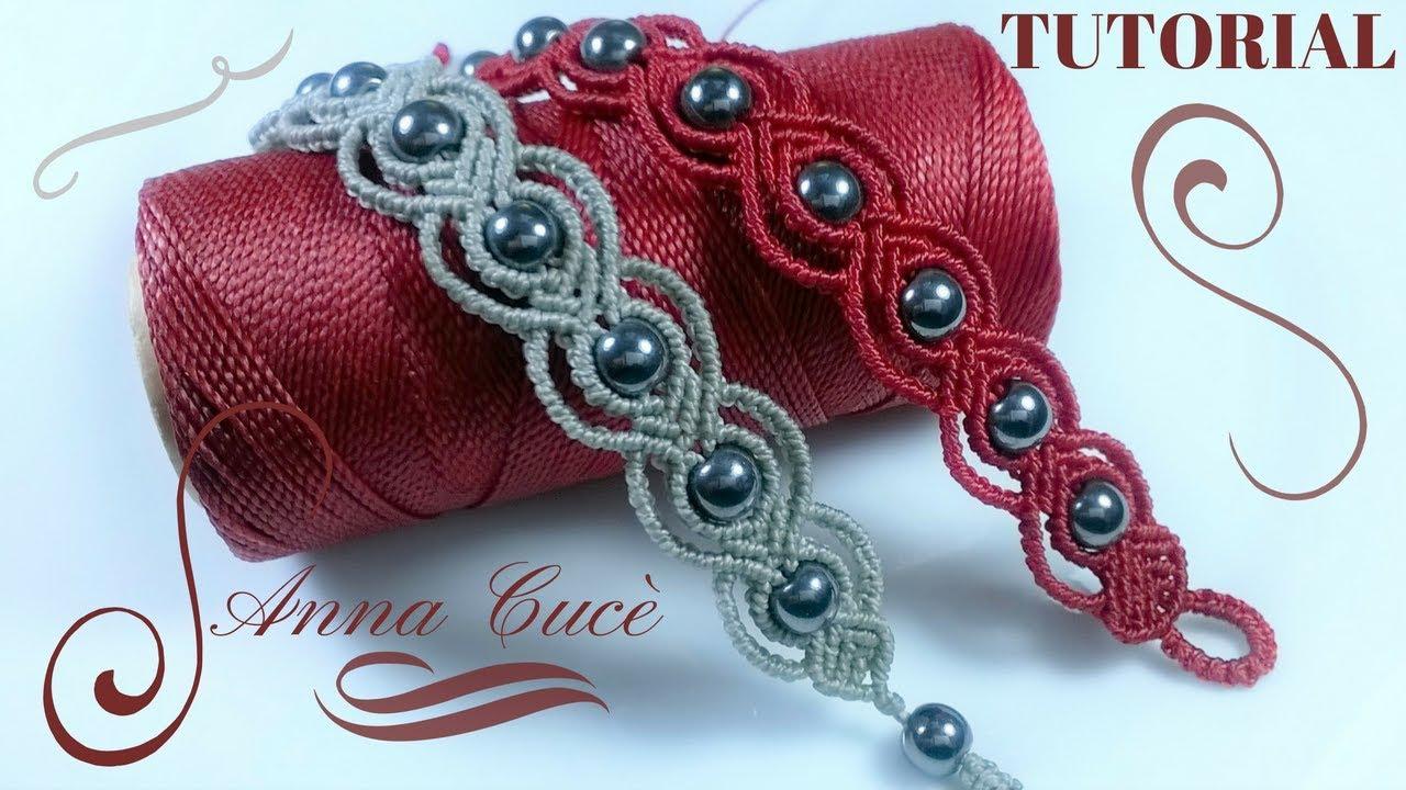 Macrame Bracelet Tutorials Quot Tiziana Quot Diy Tutorial Step