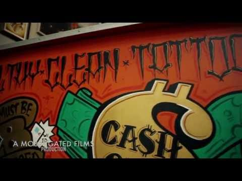 Philthy Clean Tattoo Parlor Running Man Challenge