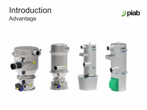 piFLOW® how to convey material with vacuum in the industries