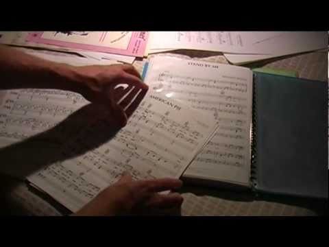 Whisper 28 - Sorting Sheet Music