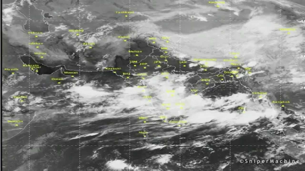 Asia India Mumbai Satellite Weather 21 June 2015