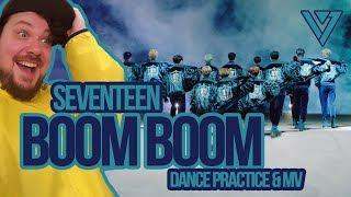 Video Mikey Reacts to SEVENTEEN 'Boom Boom' Dance Practice & MV download MP3, 3GP, MP4, WEBM, AVI, FLV Juni 2018