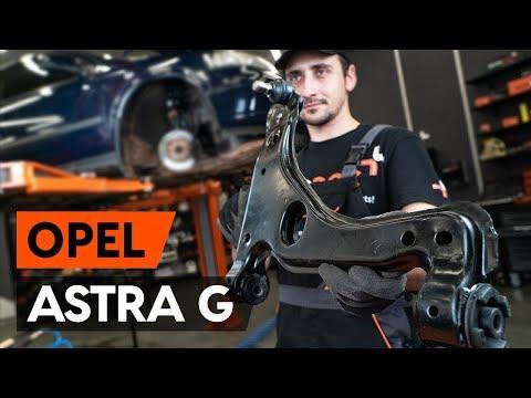 Как заменить передний рычаг подвески OPEL ASTRA-G 1 (F48_,F08_) [ВИДЕОУРОК AUTODOC]