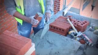 MARSHALLTOWN Leather Handle Brick Trowel