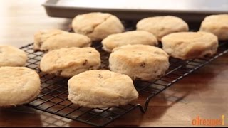 Biscuit Recipes - How To Make Cinnamon Sour Cream Biscuits