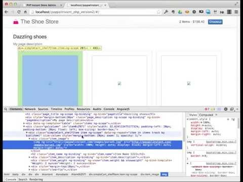 PHP Shopping Cart site using AngularJS + CSV files