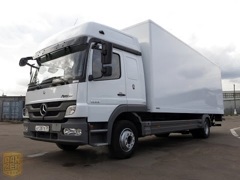 Mercedes Benz Atego 1222L Megaspace, фургон грузовой продажа