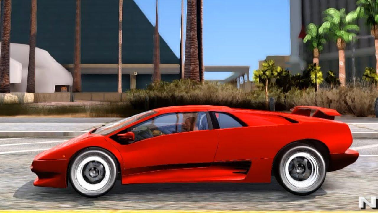 Lamborghini Diablo VTTT Black Revel , GTA San Andreas