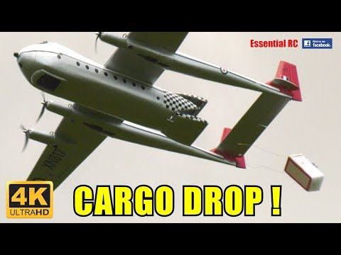 RC ELECTRIC 1950s Armstrong Whitworth AW.660 Argosy Cargo Transport [*UltraHD and 4K*]