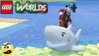 LEGO Worlds - Episódio #7 - O Pirata Zumbi - Caraca Games
