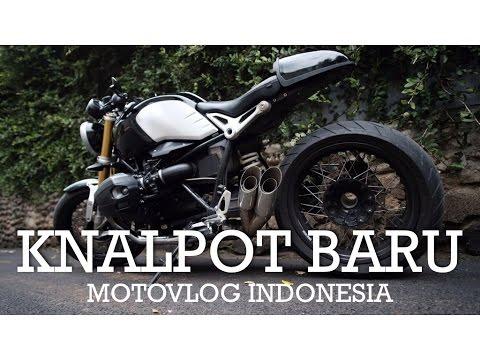 Knalpot/Exhaust Baru - BMW R Nine T Indonesia #motovlog87
