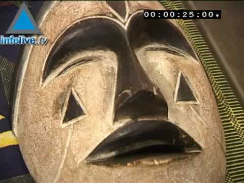 Infolive.tv Minute - Arts And Crafts From Cameroon Exhibited