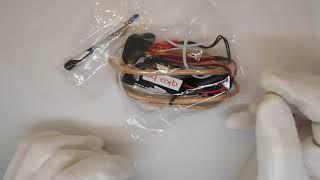 как изглежда магнитната микро слушалка МЕГА ПАК с 9 волтова огърлица НОВИ