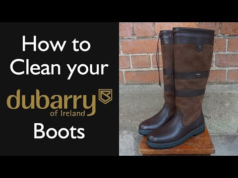 How To Clean Your Dubarry Boots