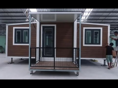 Prefab 20ft Expandable Container Van House For Sale In