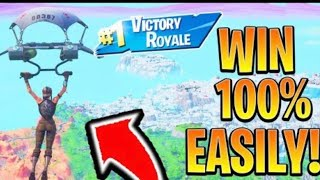 How to get *UNLIMITED* WINS glitch in Fortnite Battle Royale
