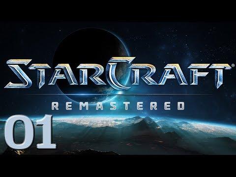 Starcraft Remastered | Blind Playthrough w/ Zashen | Part 01