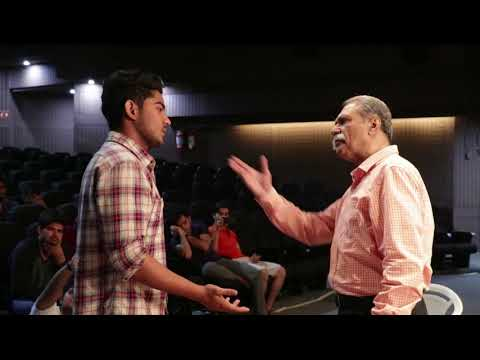 FTII-Foundation course course in acting with Chandar Khanna