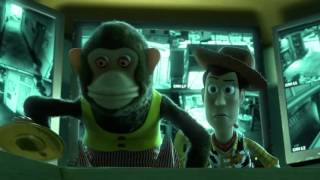 Toy Story 3 Monkey Scene