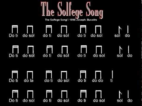 The Solfege Song.mpg - YouTube
