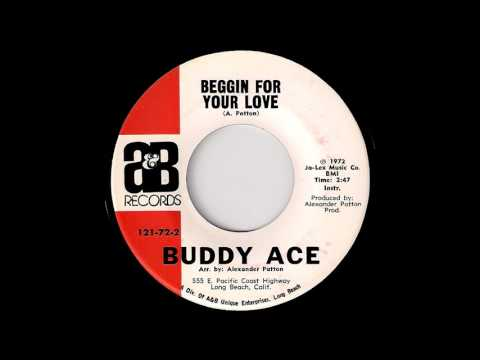 Buddy Ace - Beggin For Your Love Instrumental [A&B] 1972 Deep Funk 45