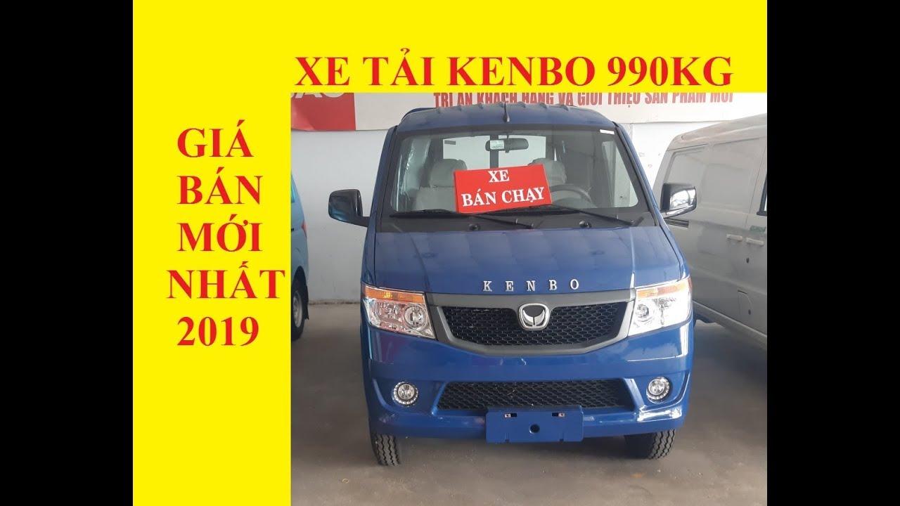 Xe Tải KenBo 990KG, Xe tải Nhẹ 900KG Giá Mới Nhất 2019