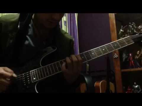 Sweating Bullets, Megadeth- solo, Rubén Benitez