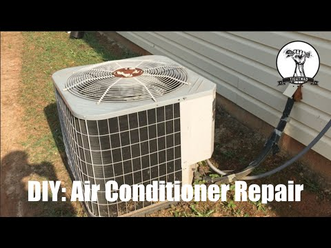 Easy Air Conditioner Repair Fan Not Spinning Blowing Warm Air