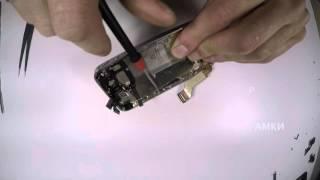 замена модуля дисплея iPhone 4s