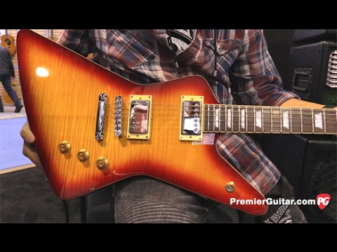 namm 17 hamer guitars standard demo youtube