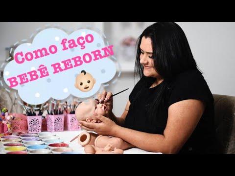 COMO FAZER UM BEBÊ REBORN - Ana Paula Guimarães