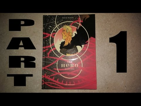 """Comic Reading Session : """"The Hero: Book One"""" Part 1 - ASMR (Soft-Spoken, Reading, Page Turning)"""