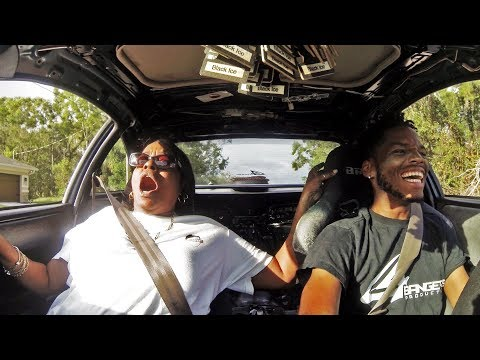 Scaring My Mom in My 300+hp Integra