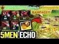 EPIC [Earthshaker] 5 Man Echo Slam - Rampage ES GOD Dota 2