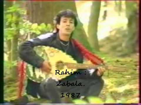 """Rahim : """"Zabala"""" 1987."""