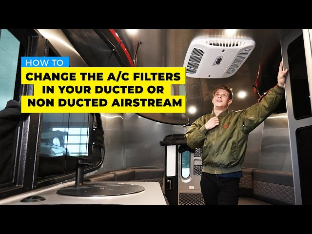 RV AC Not Working Properly? | Learn How To Change the AC filters in your ducted or non ducted RV.