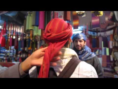 Tie Moroccan Mens Headscarf Fes Morocco