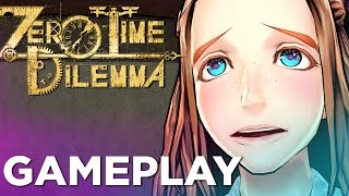 9 Minutes of ZERO TIME DILEMMA English Gameplay