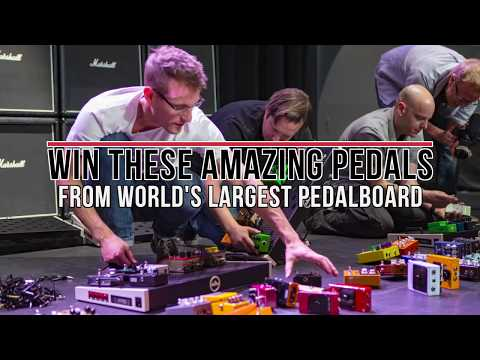 Win These AMAZING Pedals From the World's LARGEST Pedal Board!