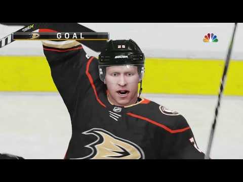 NHL 19 - San Jose Sharks Vs Anaheim Ducks Gameplay - NHL Preseason Season Match Sep 20, 2018